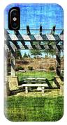 Summer Pergola Rest Spot IPhone Case