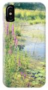 Summer Pond In The Berkshires IPhone Case