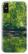 Summer Reflections At Lafayette Park IPhone Case