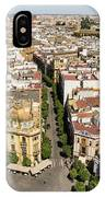 Summer Rooftops In Seville Spain IPhone Case