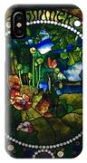 Summer Stained Glass Panel IPhone Case