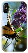 Summer Swallowtail IPhone Case
