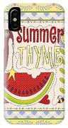 Summer Thyme-jp2832 IPhone Case