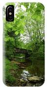 Summer Woodland And The Patapsco River Maryland IPhone Case
