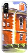 Summery Afternoon Sunshine At The Courthouse IPhone Case