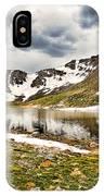 Summit Lake Study 3 IPhone Case