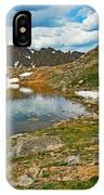 Summit Lake Study 5 IPhone Case