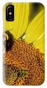 Sun Bee IPhone Case