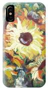 Sun In A Vase IPhone Case