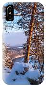 Sun-kissed. Saxon Switzerland IPhone Case