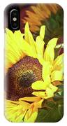 Sun Of The Flower IPhone Case by Michael Hope