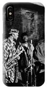 Sun Ra Arkestra At The Red Garter 1970 Nyc 4 IPhone Case