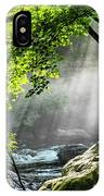 Sun Rays On Williams River  IPhone Case