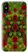 Sun Roses In The Deep Dark Forest With Fantasy And Flair IPhone Case