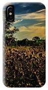 Sun Setting At Valley Forge IPhone Case