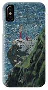 Sunbathers Cornwall IPhone Case