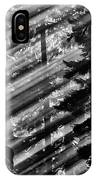 Sunbeams Through The Pines - Mount Rainier IPhone Case