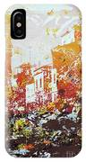 Sundown Abstraction 2 IPhone Case