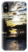 Sundown At Anne's Beach IPhone Case