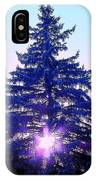Sundown In The Forest IPhone Case