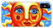 Sunface With Ladybug IPhone Case