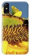 Sunflower Art Prints Honey Bee Sun Flower Floral Garden IPhone Case