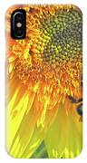 Sunflower Bees IPhone Case