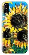 Sunflower Bouquet IPhone Case