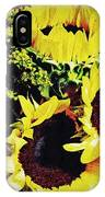Sunflower Decor 3 IPhone Case