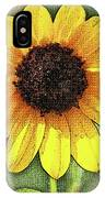 Sunflower Expressed IPhone Case