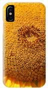Sunflower Head  IPhone Case