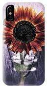 Sunflower In A Cup IPhone Case