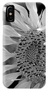 Sunflower In Contrast IPhone Case