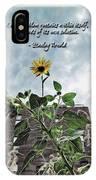 Sunflower Inspiration IPhone Case