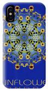 Sunflower Mandala IPhone Case