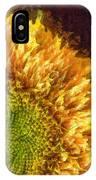 Sunflower Pencil IPhone Case