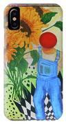 Sunflower Power IPhone Case