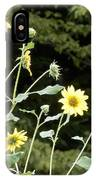 Sunflower Sea Of Happiness IPhone Case