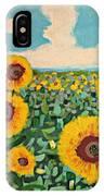 Sunflower Serendipity IPhone Case