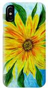 Sunflower Sunshine Of Your Love IPhone Case