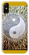 Sunflower Zen IPhone Case