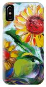 Sunflowers 10 IPhone Case