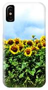 Sunflowers 2 IPhone Case