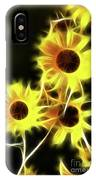 Sunflowers-4955-fractal IPhone Case