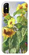 Sunflowers After The Rain IPhone Case
