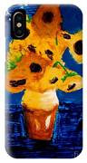 Sunflowers After Vincent Van Gogh IPhone Case