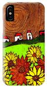 Sunflowers And Fields IPhone Case