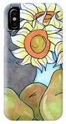 Sunflowers And Pears IPhone Case