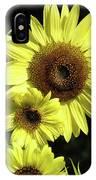Sunflowers Art Yellow Sun Flowers Giclee Prints Baslee Troutman  IPhone Case