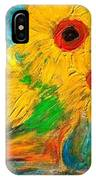 Sunflowers By The Lake IPhone Case